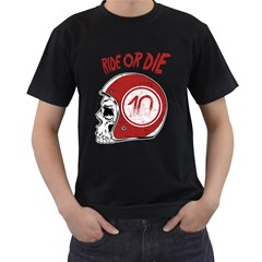 Ride or Die Mens' T-shirt (Black)