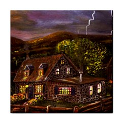 Camp Verde   by Ave Hurley of ArtRevu ~ Tile Coaster