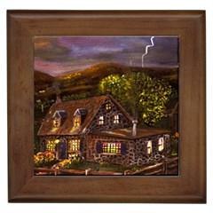 camp Verde   By Ave Hurley Of Artrevu   Framed Tile
