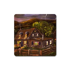 Camp Verde   by Ave Hurley of ArtRevu ~ Magnet (Square)
