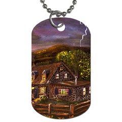 Camp Verde   by Ave Hurley of ArtRevu ~ Dog Tag (One Side)