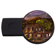 Camp Verde   by Ave Hurley of ArtRevu ~ USB Flash Drive Round (1 GB)