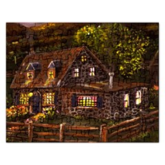 Camp Verde   by Ave Hurley of ArtRevu ~ Jigsaw Puzzle (Rectangular)