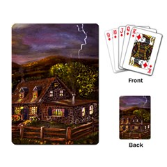 Camp Verde   by Ave Hurley of ArtRevu ~ Playing Cards Single Design