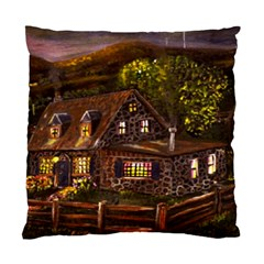Camp Verde   by Ave Hurley of ArtRevu ~ Standard Cushion Case (Two Sides)