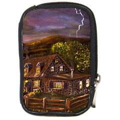 camp Verde   By Ave Hurley Of Artrevu   Compact Camera Leather Case