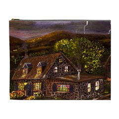 Camp Verde   by Ave Hurley of ArtRevu ~ Cosmetic Bag (XL)