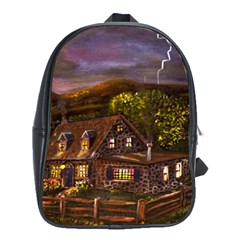camp Verde   By Ave Hurley Of Artrevu   School Bag (large)