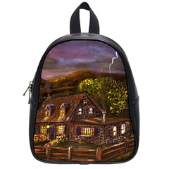 Camp Verde   by Ave Hurley of ArtRevu ~ School Bag (Small)