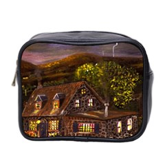 Camp Verde   by Ave Hurley of ArtRevu ~ Mini Toiletries Bag (Two Sides)