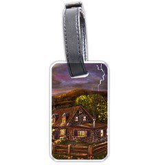Camp Verde   by Ave Hurley of ArtRevu ~ Luggage Tag (two sides)