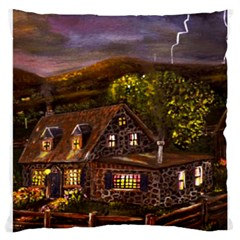 Camp Verde   by Ave Hurley of ArtRevu ~ Large Cushion Case (Two Sides)