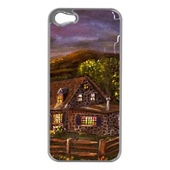 Camp Verde   by Ave Hurley of ArtRevu ~ Apple iPhone 5 Case (Silver)