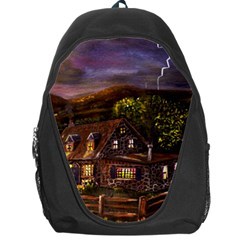 Camp Verde   by Ave Hurley of ArtRevu ~ Backpack Bag