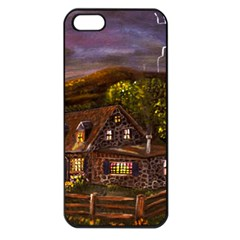 camp Verde   By Ave Hurley Of Artrevu   Apple Iphone 5 Seamless Case (black)