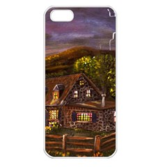 camp Verde   By Ave Hurley Of Artrevu   Apple Iphone 5 Seamless Case (white)