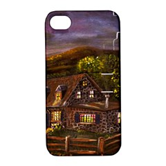 Camp Verde   by Ave Hurley of ArtRevu ~ Apple iPhone 4/4S Hardshell Case with Stand