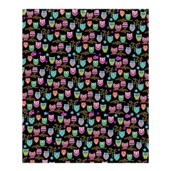 Happy Owls Shower Curtain 60  X 72  (medium)