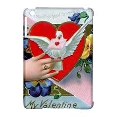 Vintage Valentine Apple iPad Mini Hardshell Case (Compatible with Smart Cover)