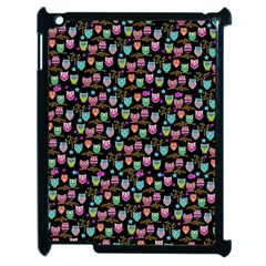 Happy owls Apple iPad 2 Case (Black)