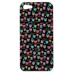 Happy owls Apple iPhone 5 Hardshell Case