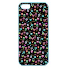 Happy owls Apple Seamless iPhone 5 Case (Color)