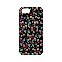 Happy owls Apple iPhone 5 Classic Hardshell Case (PC+Silicone)