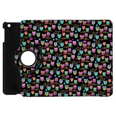 Happy Owls Apple Ipad Mini Flip 360 Case