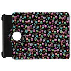 Happy owls Kindle Fire HD 7  (1st Gen) Flip 360 Case