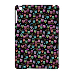 Happy owls Apple iPad Mini Hardshell Case (Compatible with Smart Cover)