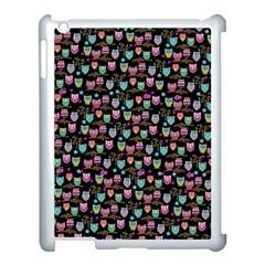 Happy owls Apple iPad 3/4 Case (White)