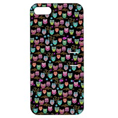 Happy owls Apple iPhone 5 Hardshell Case with Stand