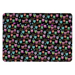 Happy Owls Samsung Galaxy Tab 8 9  P7300 Flip Case