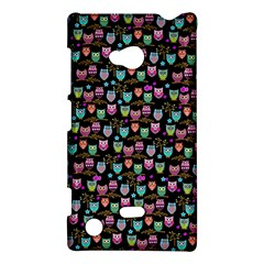 Happy Owls Nokia Lumia 720 Hardshell Case