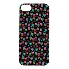 Happy Owls Apple Iphone 5s Hardshell Case
