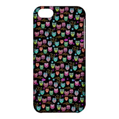 Happy Owls Apple Iphone 5c Hardshell Case