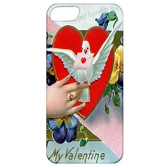 Vintage Valentine Apple iPhone 5 Classic Hardshell Case