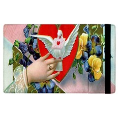 Vintage Valentine Apple iPad 2 Flip Case