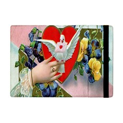 Vintage Valentine Apple iPad Mini Flip Case