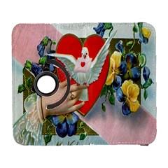 Vintage Valentine Samsung Galaxy S  III Flip 360 Case