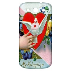 Vintage Valentine Samsung Galaxy S3 S III Classic Hardshell Back Case