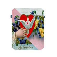 Vintage Valentine Apple iPad Protective Sleeve
