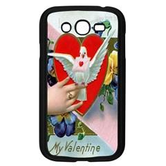 Vintage Valentine Samsung Galaxy Grand DUOS I9082 Case (Black)