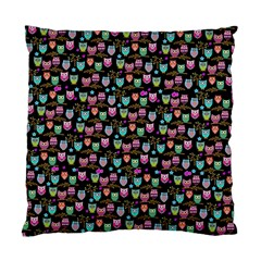Happy Owls Cushion Case (single Sided)