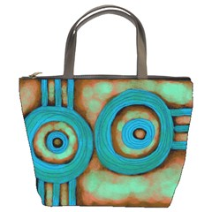 Turquoise Abstract Art Small Purse