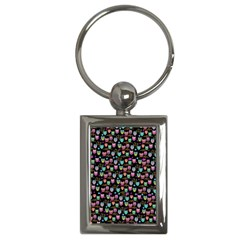 Happy Owls Key Chain (Rectangle)