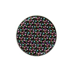 Happy Owls Golf Ball Marker 4 Pack (for Hat Clip)