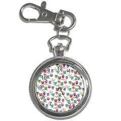 Happy Owls Key Chain & Watch