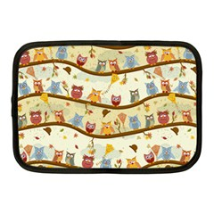 Autumn Owls Netbook Sleeve (Medium)