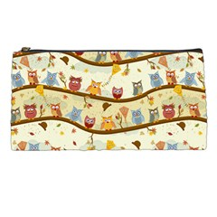 Autumn Owls Pencil Case